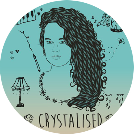 Album cover Crystalised-rond